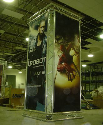 Custom Trade Show Booths Exhibit Truss Tower