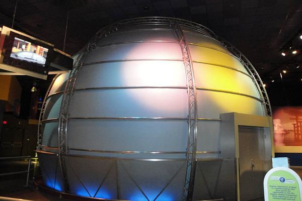 Custom Trade Show Booths Full Exhibit Truss Dome