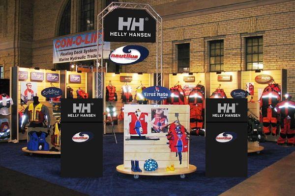 Custom Trade Show Booths Integration Exhibit Truss