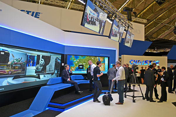 Custom Trade Show Booths With Monitors