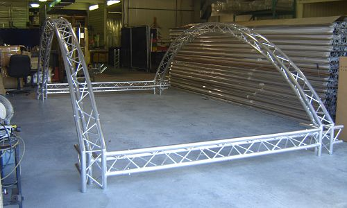Customized Aluminum Display Truss For Exhibits