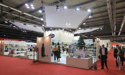 Elaborate trade show booths