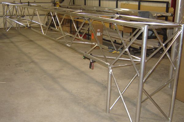 Fabricating Custom Trade Show Booths Display Truss Manufacturers