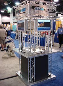 Kiosks trade show booths