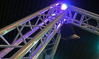 Theatrical Concert Stage Lights Lighting Movie Set Aluminum Truss