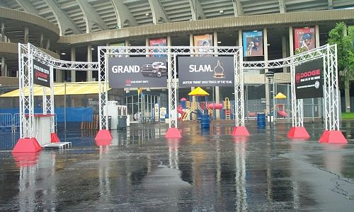 Modular Exhibit Display Truss Systems Entrances