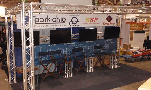 Movable Trade Show Booths Portable