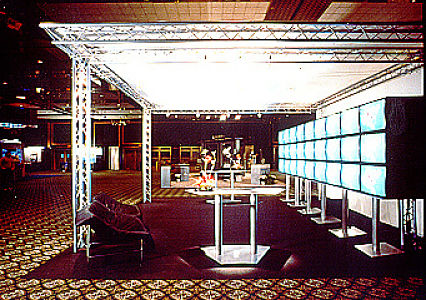 Moveable Trade Show Booth Exhibits Portable