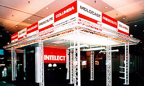 Portable Trade Show Booths Aluminum Truss
