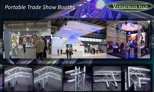 Portable Trade Show Exhibits Displays Modular Truss Components