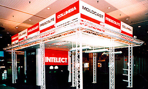 Portable Trade Show Exhibit Booths Aluminum Truss
