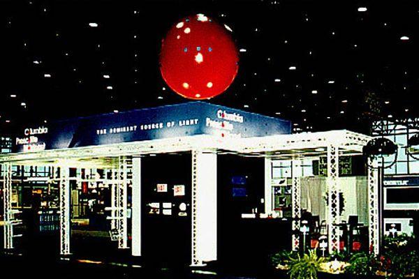 White Truss Custom Trade Show Booths