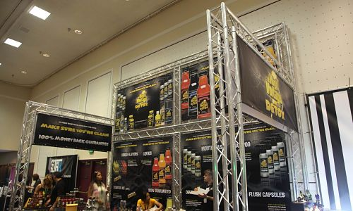 mobile sectional truss portable trade show displays
