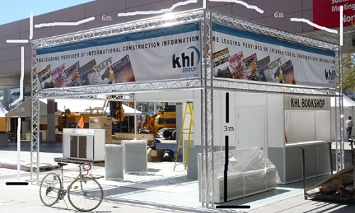 prefabricated portable trade show booths