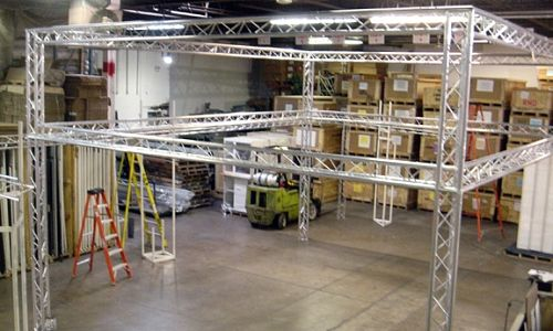 Exhibition Booth Structure : Trade show booths versatruss plus