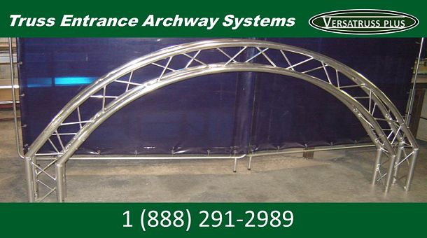 Aluminum Truss Entrance Archway System Component