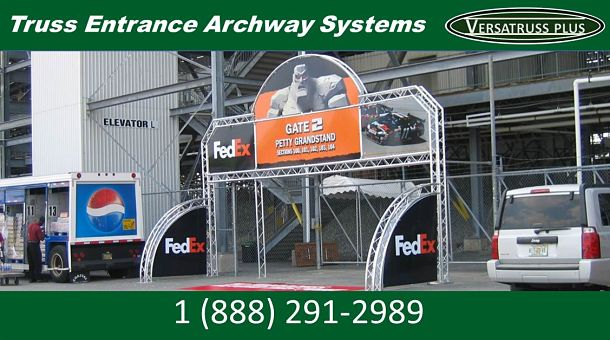 Commercial Truss Archway Systems