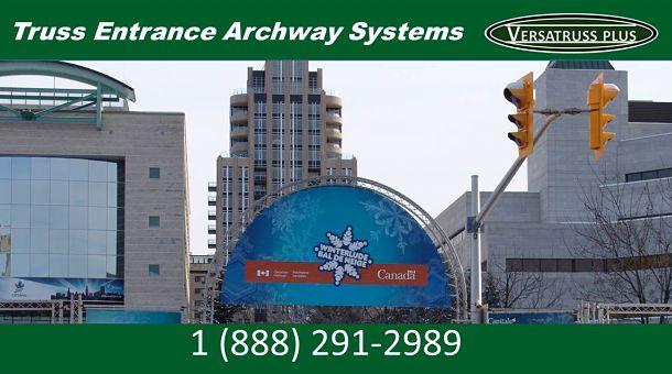 Entrance Ways Truss System Archway