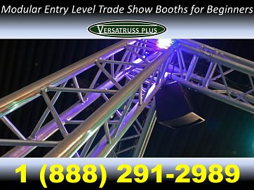 Modular Entry Level Trade Show Booths For Beginners