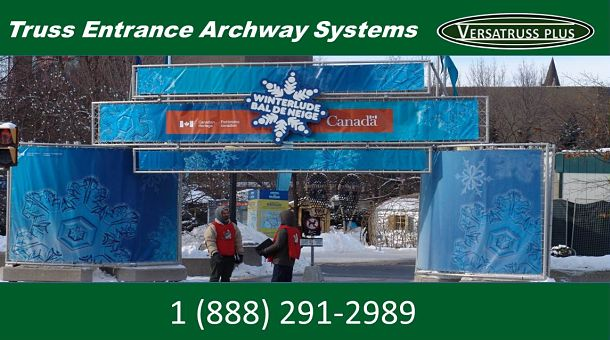 Square Truss Entrance Archway Systems