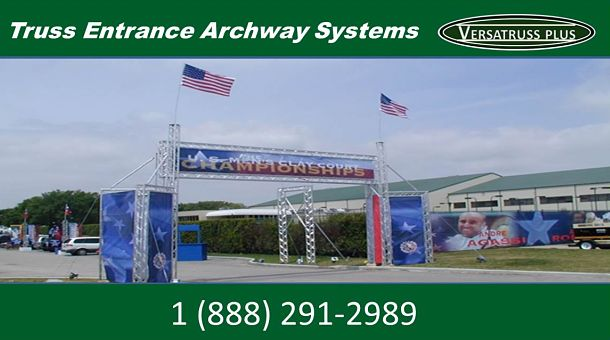 Systems For Entrances Archways Truss