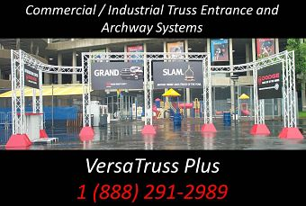 Truss Entrances Archway Systems Commercial