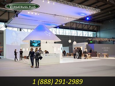 Truss Trade Show Booth Enclosures