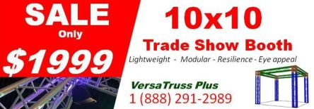 10x10 Trade Show Booth Sale