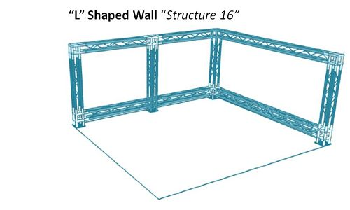 """L"" Shaped Wall ""Structure 16"""