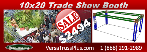 10x20 Trade Show Booth Sale While Qtys