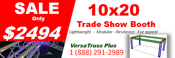 10x20 Trade Show Booth Sale