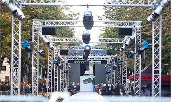 Fashion Industry Staging and Lighting Truss