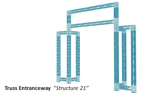 "Truss Entrance way  ""Structure 21"""