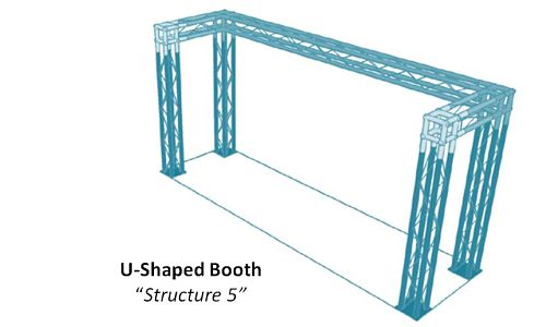 "U-Shaped Booth ""Structure 5"""