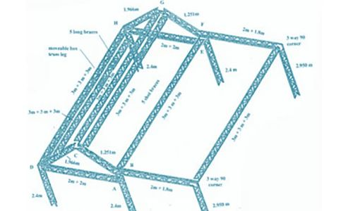 Custom Aluminum Truss Tent Frames