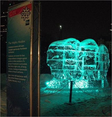 Winterlude love display truss by VersaTruss Plus