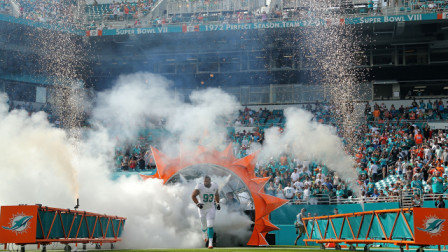 VersaTruss Plus Miami Dolphins Field Entrance