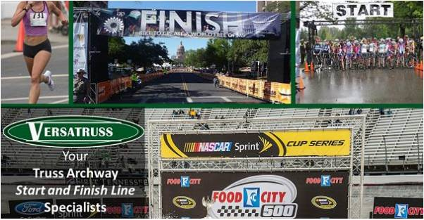Display Truss Race Start and Finish Lines Marathons