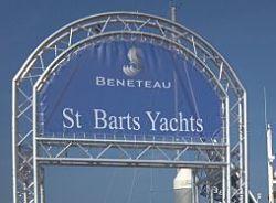 VersaTruss Plus Yacht Club Display Truss Archway.